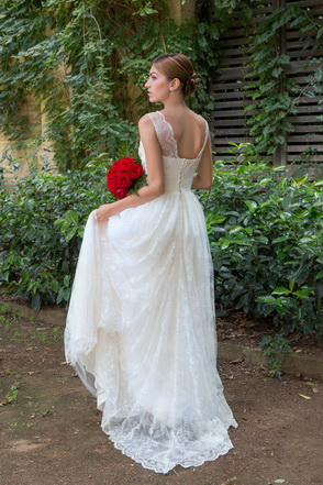 Vestido de novia Kourtney by L'AVETIS