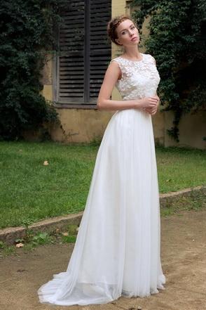 Vestit de núvia Emily-Jane by L'AVETIS