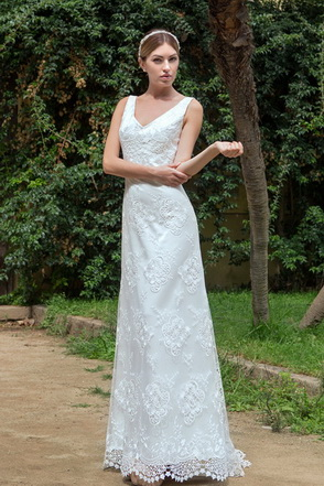 Wedding dress Ágata by L'AVETIS