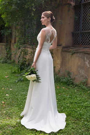 Wedding dress Mellisa-Ksenia by L'AVETIS