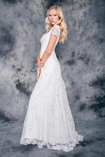 Vestido novia bohemio barcelona