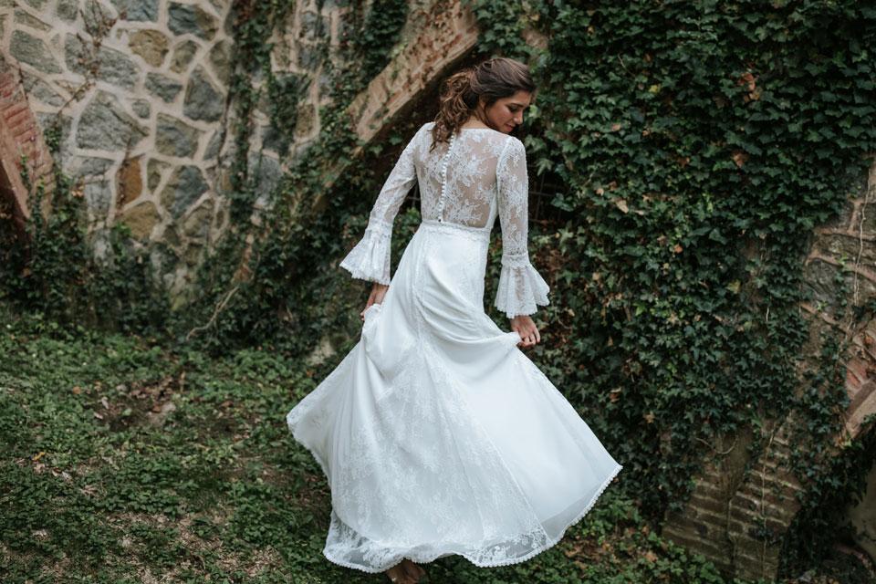 Vestido de novia casilda by L'AVETIS