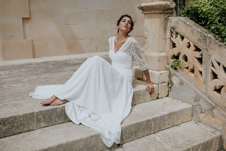 Vestido de novia diana by L'AVETIS