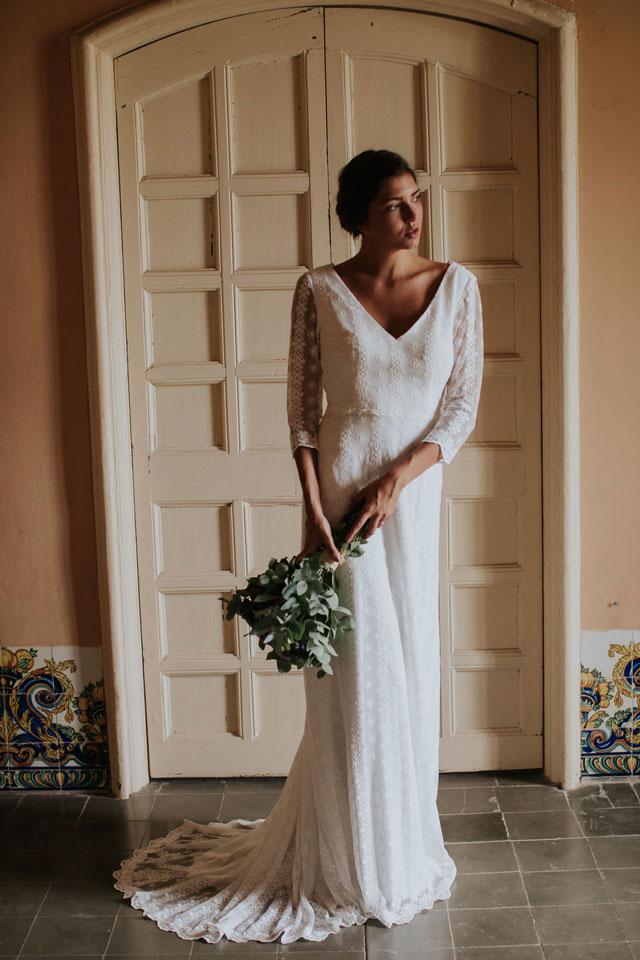 Vestido de novia elvira by L'AVETIS