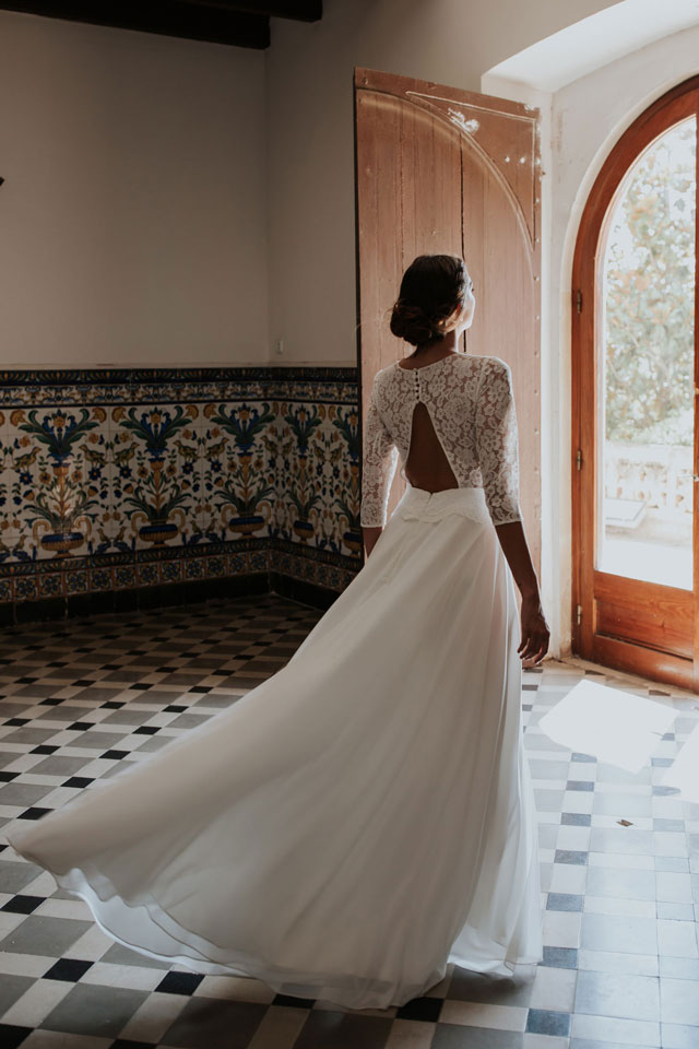 Vestido de novia lorena by L'AVETIS