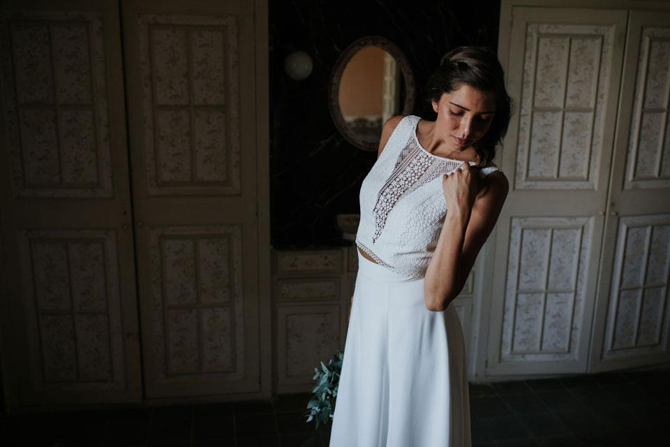 Vestido de novia rosario by L'AVETIS