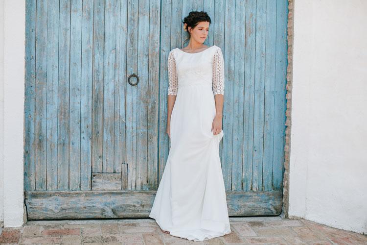 Vestido de novia amalfi by L'AVETIS