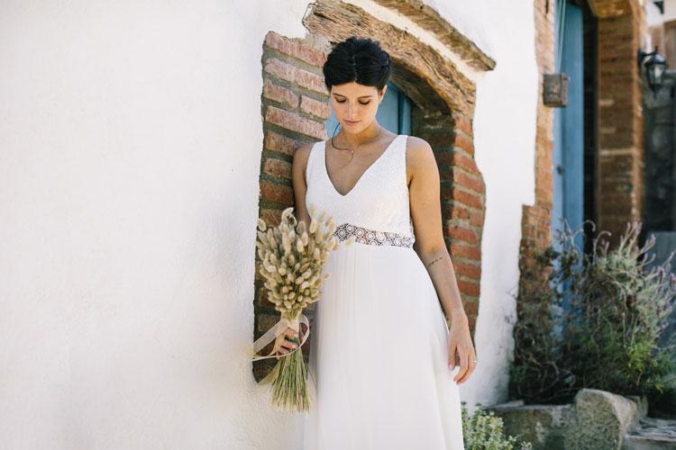 Vestido de novia begur by L'AVETIS
