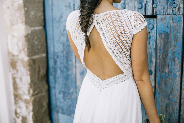 Vestido de novia capri by L'AVETIS