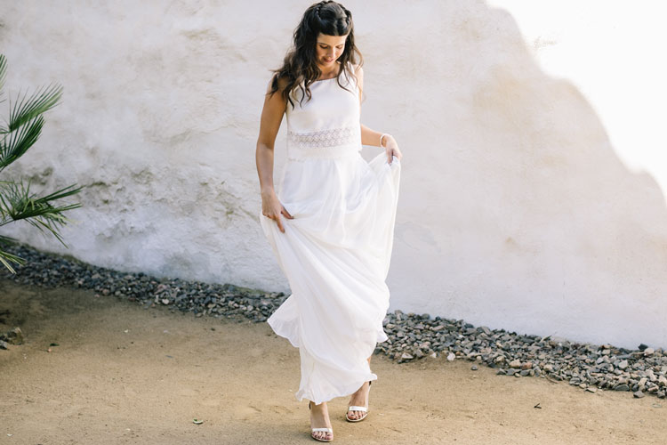 Vestido de novia mahon by L'AVETIS
