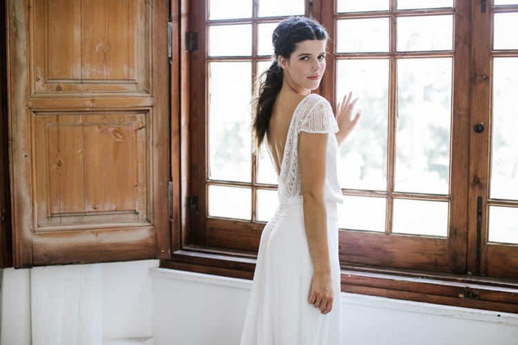 Vestido de novia tilos by L'AVETIS