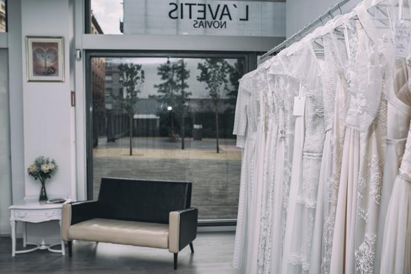 Botiga de núvies a Barcelona
