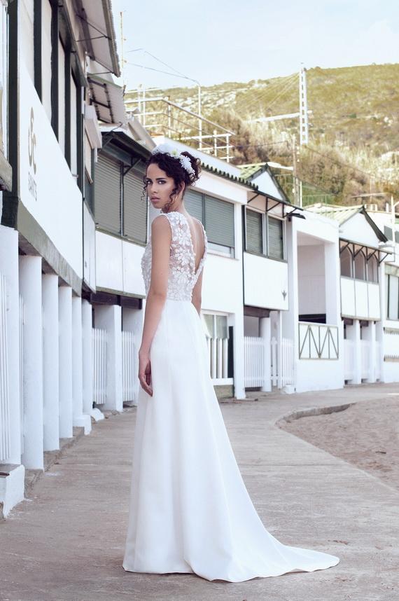 Vestidos de novia ligeros para playa