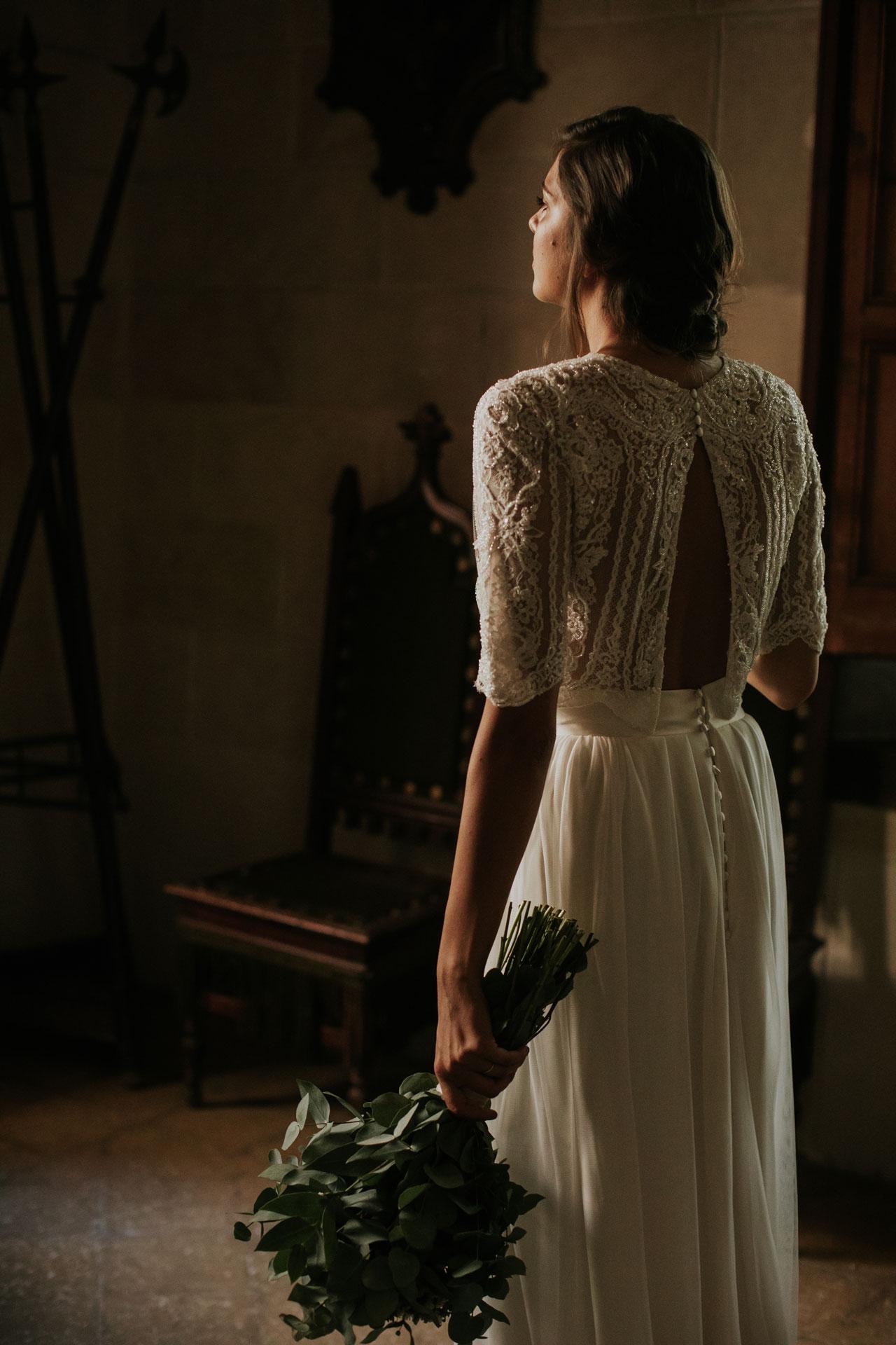 Vestit de núvia Audrey / L'AVETIS