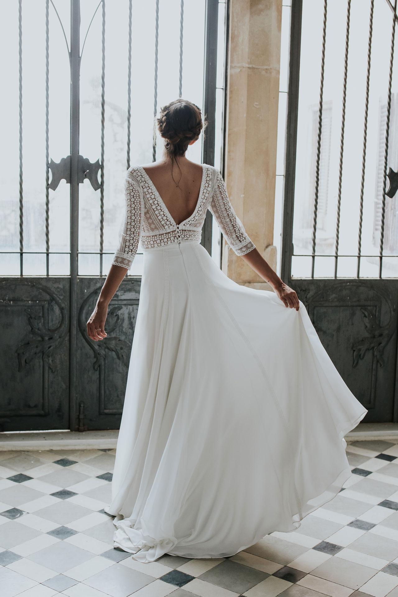 Vestit de núvia Diana / L'AVETIS