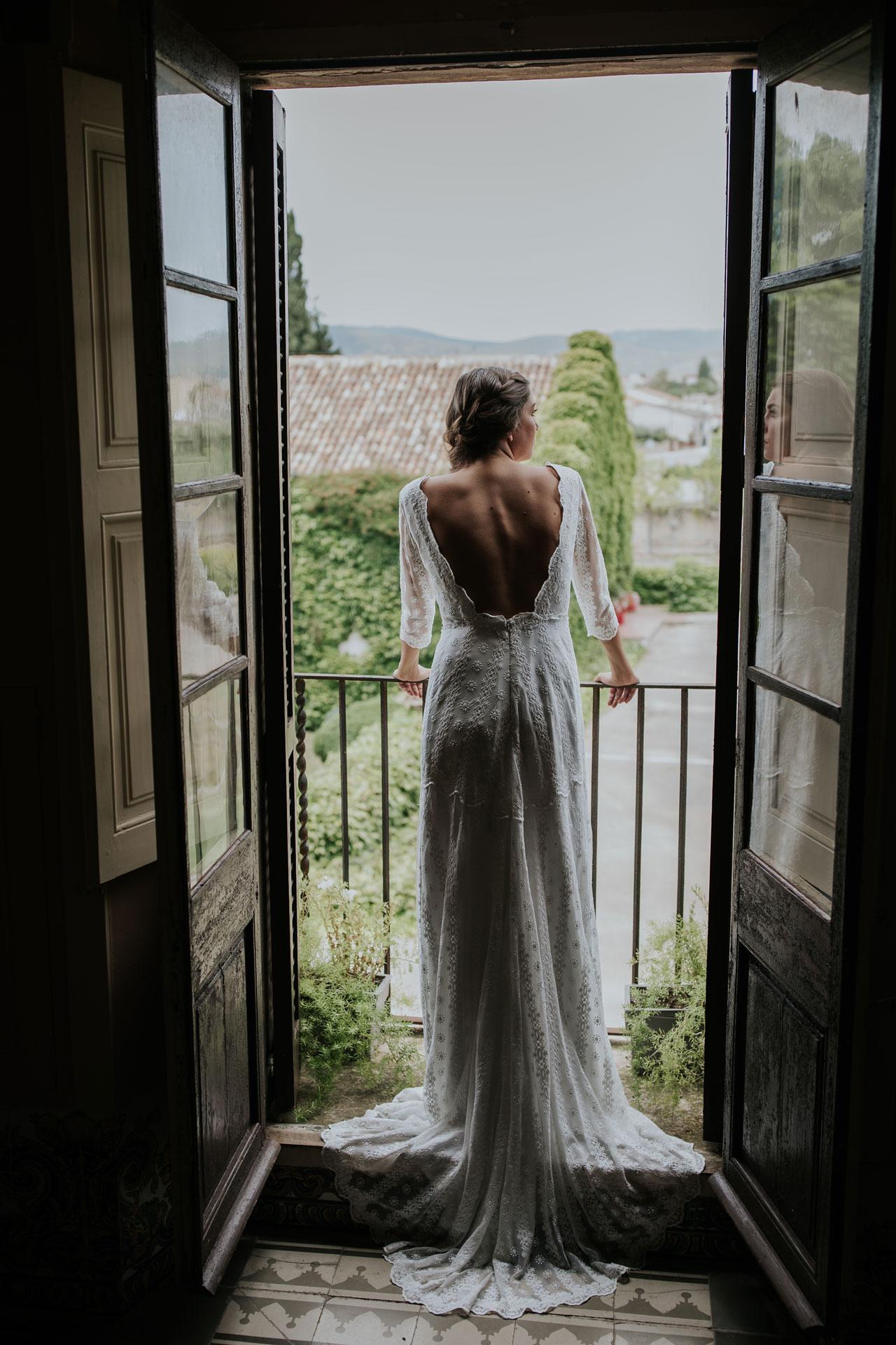 Vestit de núvia Elvira / L'AVETIS