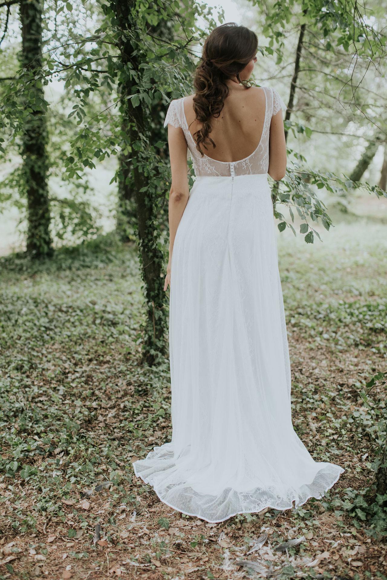 Vestit de núvia Norah / L'AVETIS