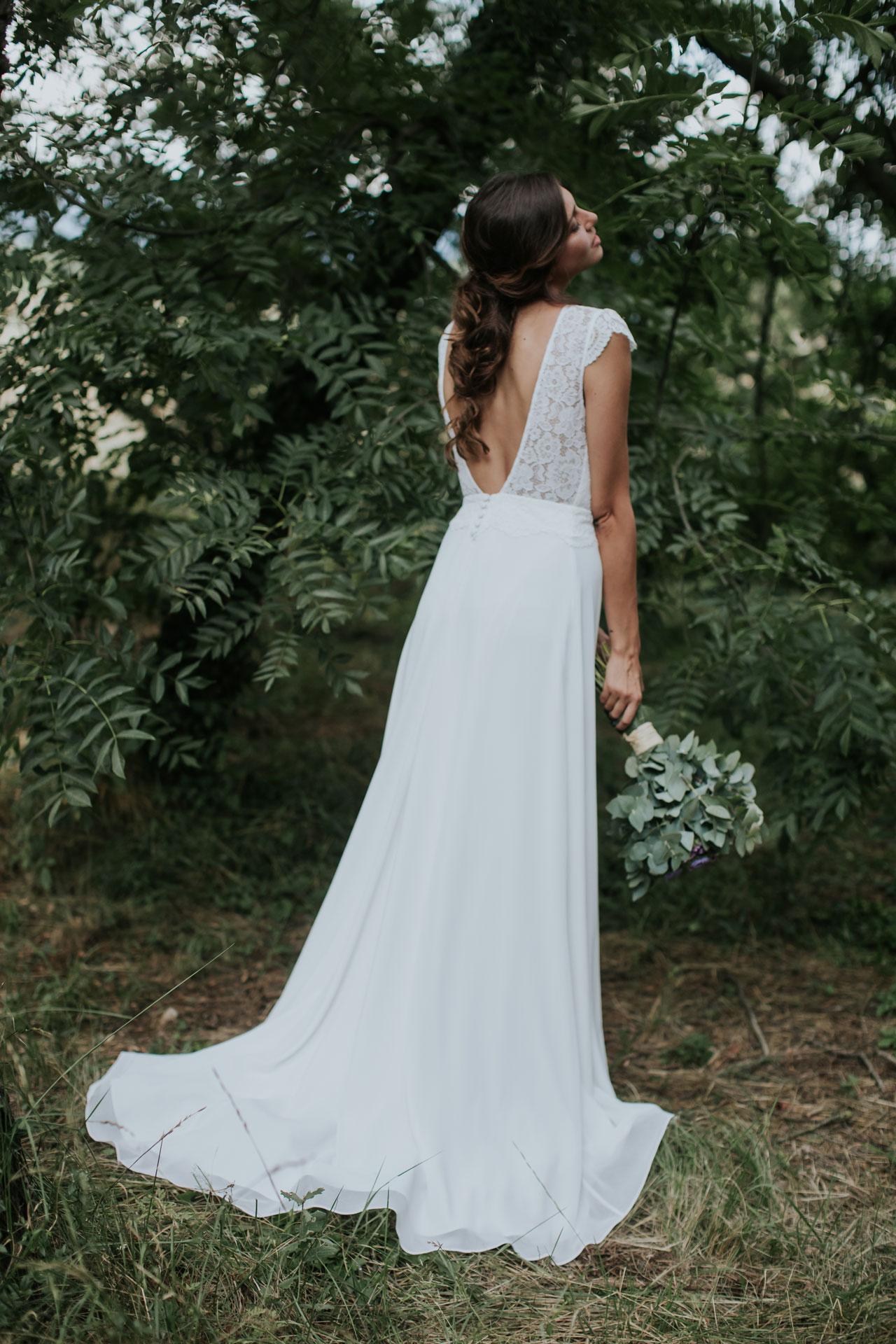 Vestido de novia Rosa / L'AVETIS