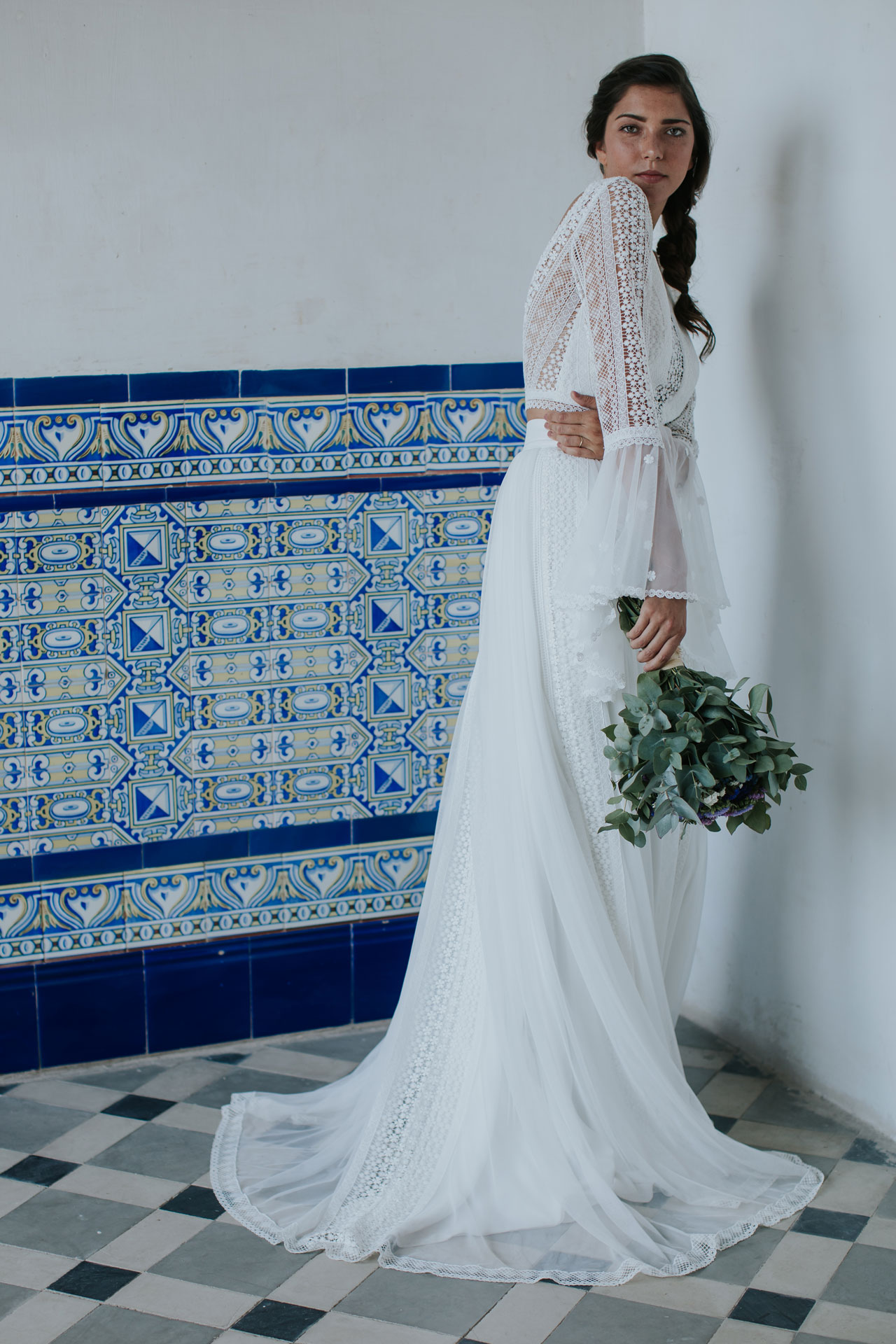 Vestido de novia Yolanda / L'AVETIS