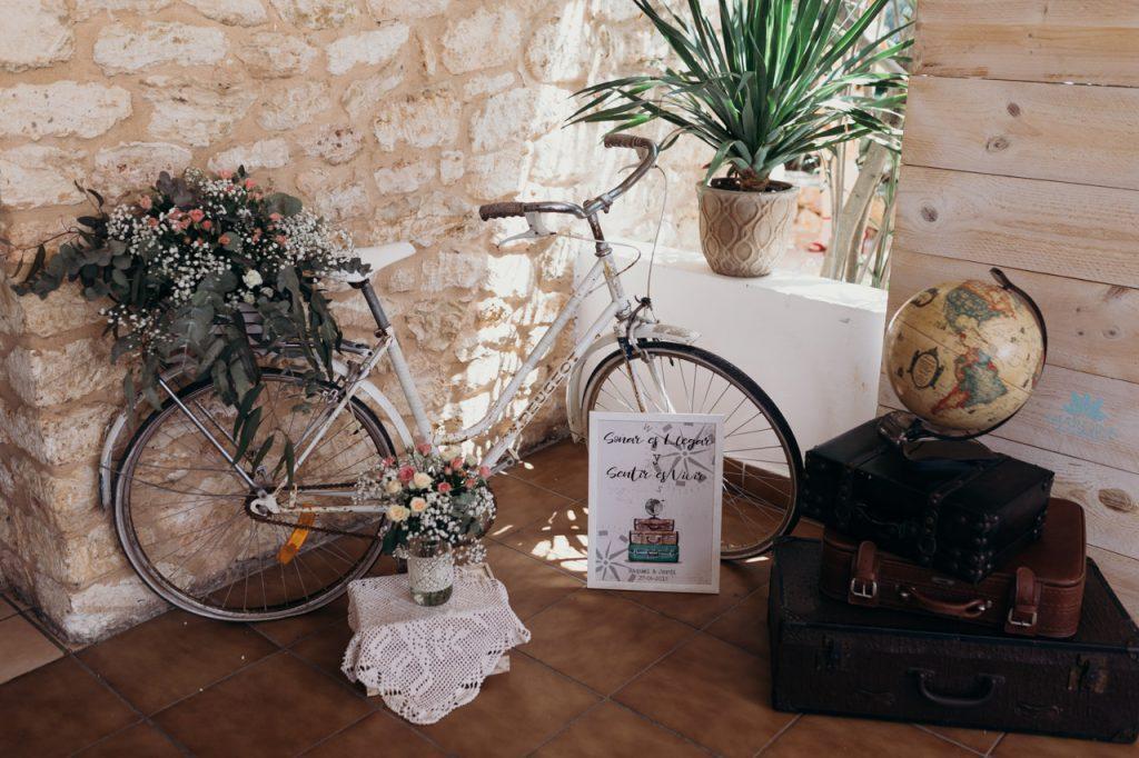 Detalles viajeros de la boda en Ibiza de Raquel y Juanjo